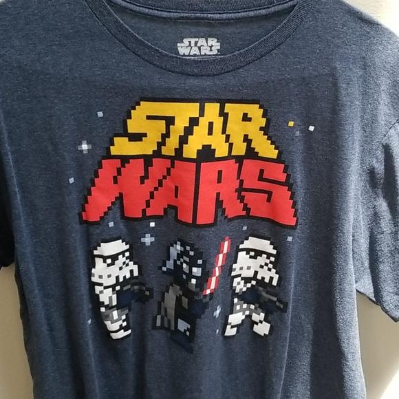 Star Wars men's tshirt Sz L